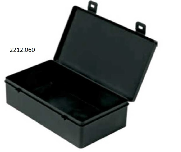 Conductive box with cover