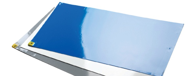 "Sticky mat 8x30 layers 18""x45 blue"