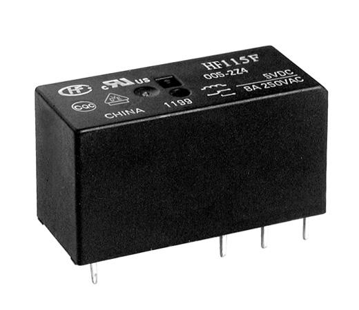 Relay 12VDC 2C 240VAC/2x8A