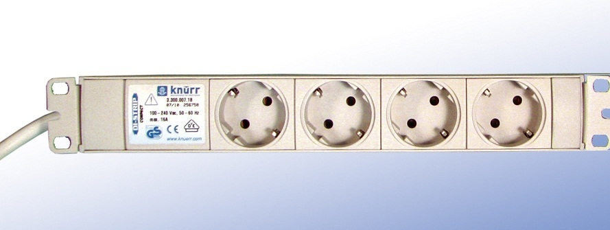 DI-Strip Standard 4 sockets