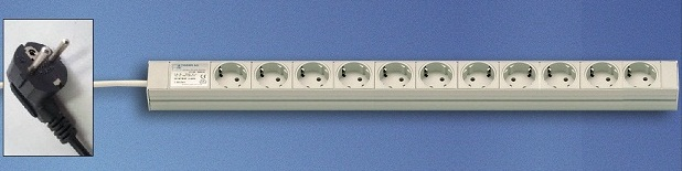 DI-Strip Standard 11 sockets