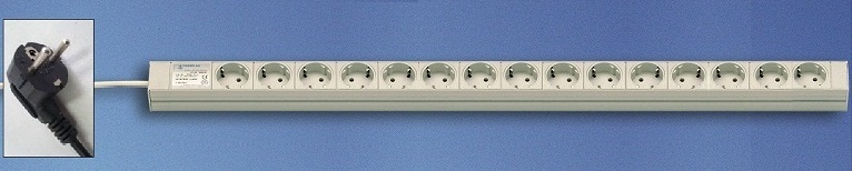 DI-Strip Standard 15 sockets