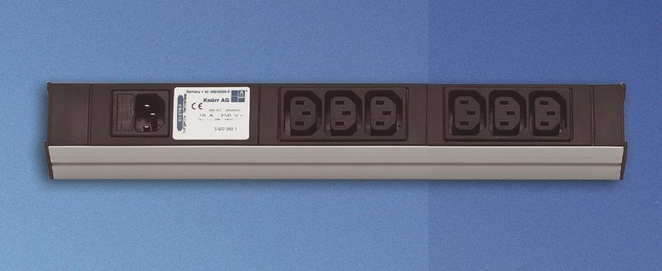 DI-Strip C14 input + 6xC13