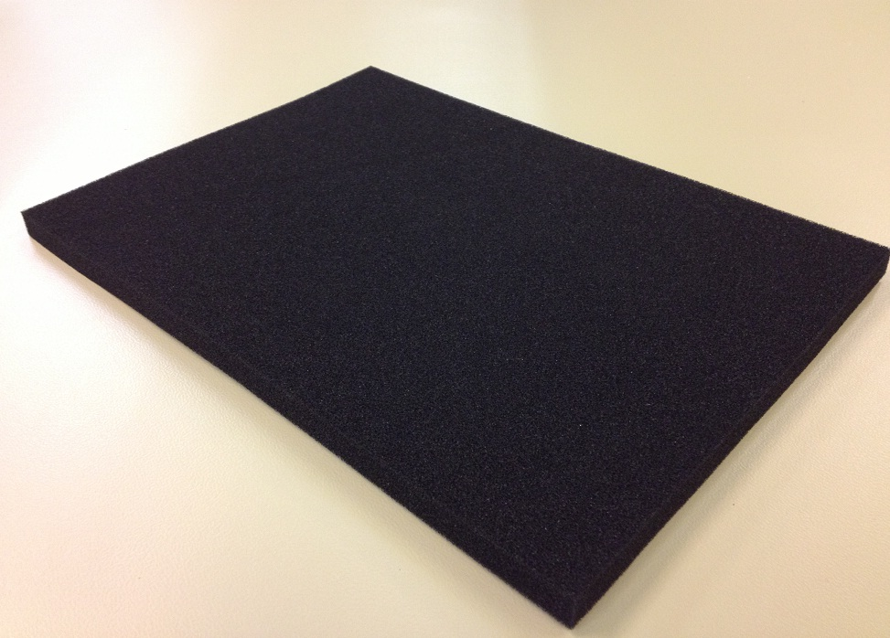 PU Foam ELS soft dark 348x548x6mm