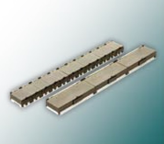Rail w.12 SMD cont.w.hing.lids