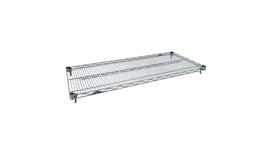 Super Adjust 18x72 Shelf - Chrome