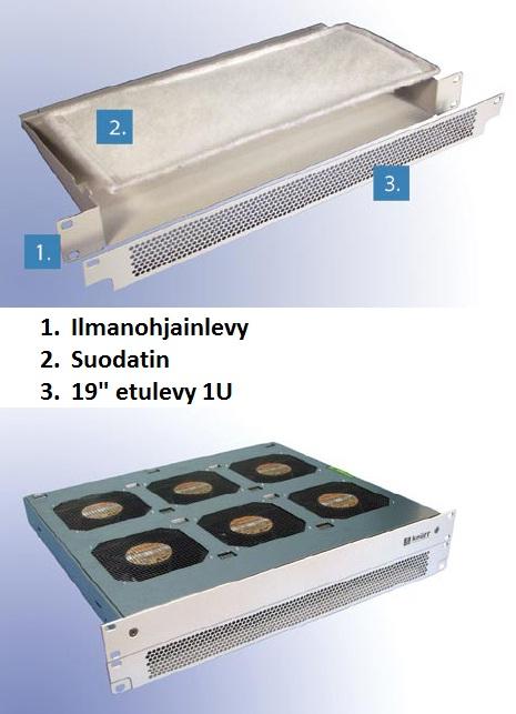 Replacement filter D390 (6 fans)