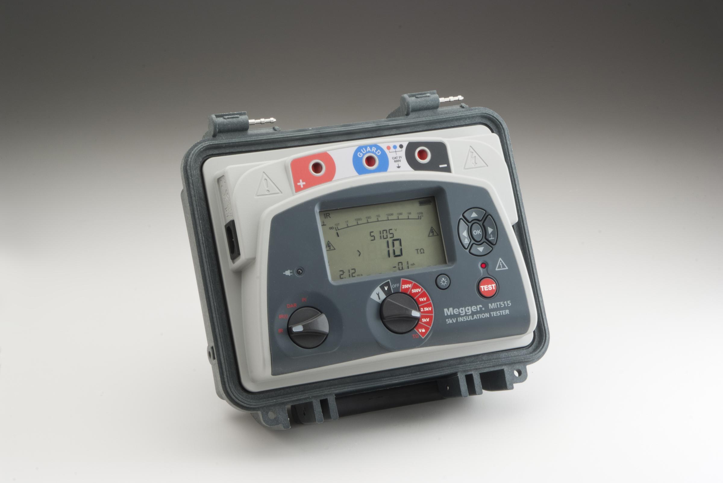 Megger Ins. tester 5kV 1001-937