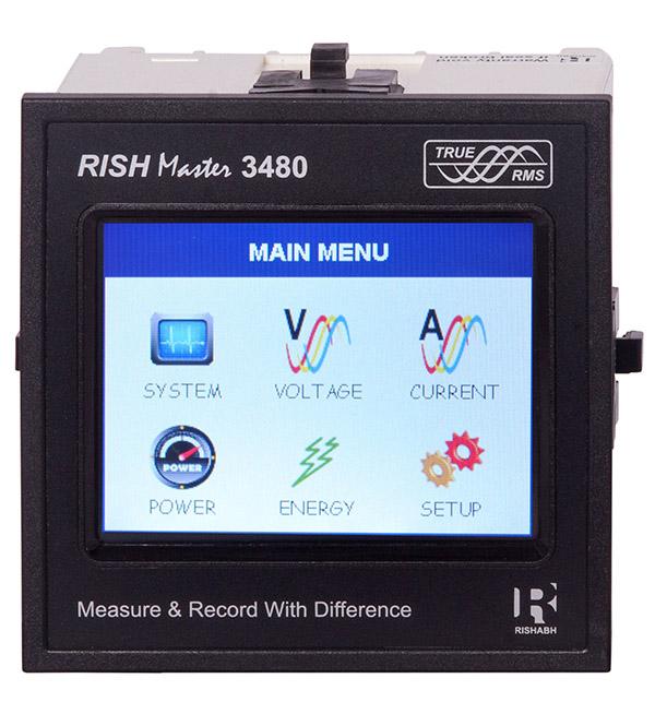 Rishmaster 3430 400V 4-20mA output
