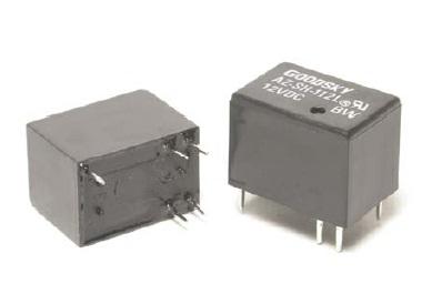 Relay 5VDC 1C 120VAC/1A