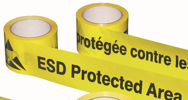 ESD floor marking tape 75mm / 33m
