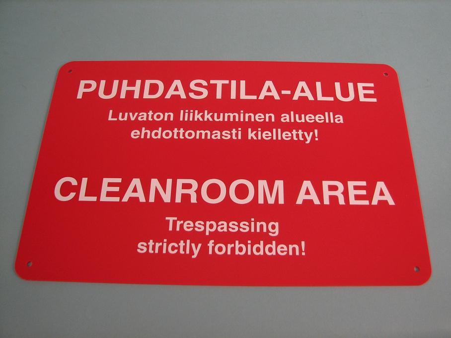 Cleanroom board