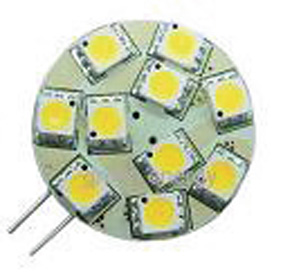 Ledlamp G4 212VDC 120lm 1,5W warm w