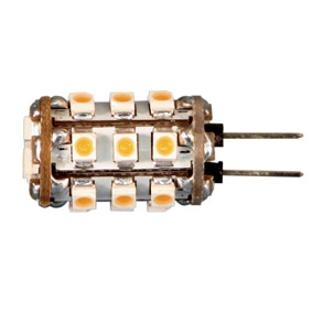 Ledlamp G4 12VDC 120lm 1,5W warm w