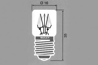 Lamp E-14 T16x35mm 48V 5W