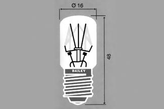 Lamp E-14 T16x48 130V 15W