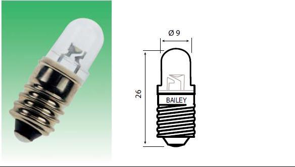 Lamp E10 6V 2W E28.006.333