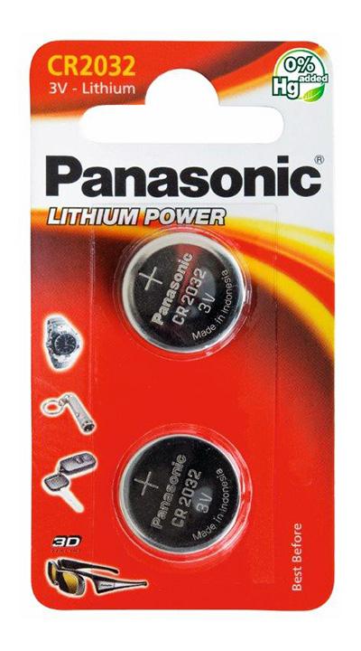 Panasonic CR2032 3V Lit 2kpl 220mAh