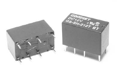 Relay 12VDC 2C 120VAC/2A