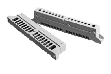 Terminal block (1x25)+(7x10)