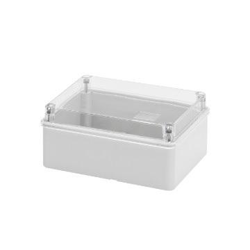 transparent lid IP56 150x110x70