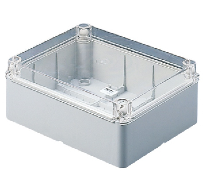 transparent lid IP56 190x140x70