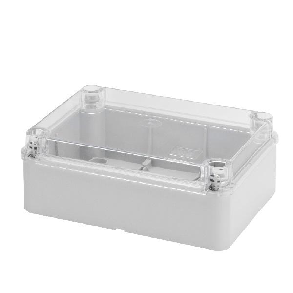transparent lid IP56 300x220x120