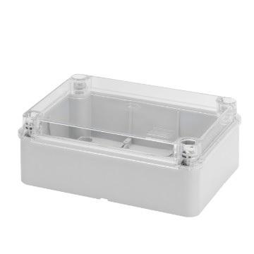 transparent lid IP56 380x300x120