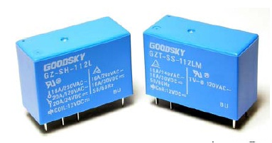 Relay 12VDC 1C 250VAC/10A