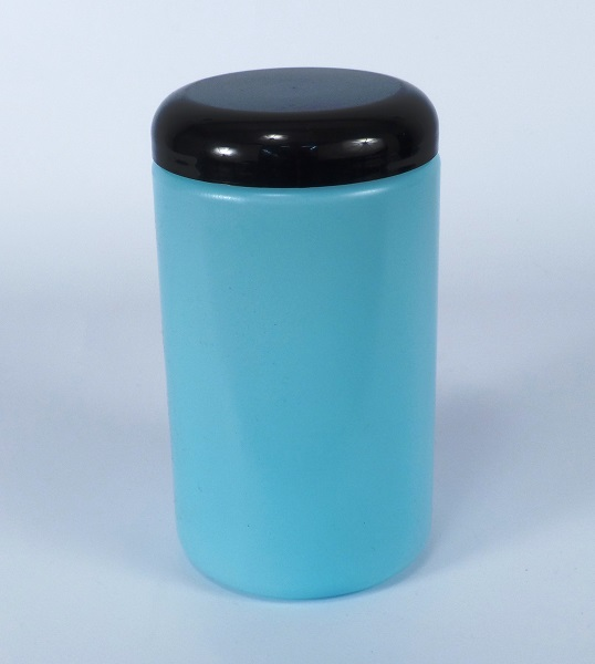 ESD bottle round w cap 900ml short