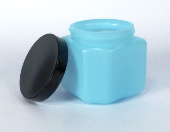 ESD bottle square with cap 454 ml