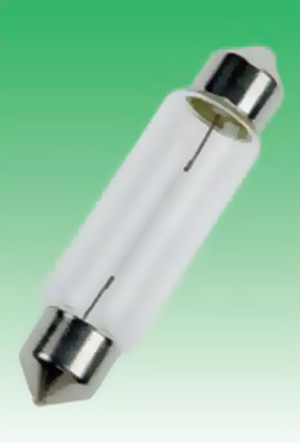 Festoonlamp K8 11x44 24V3WS84424003