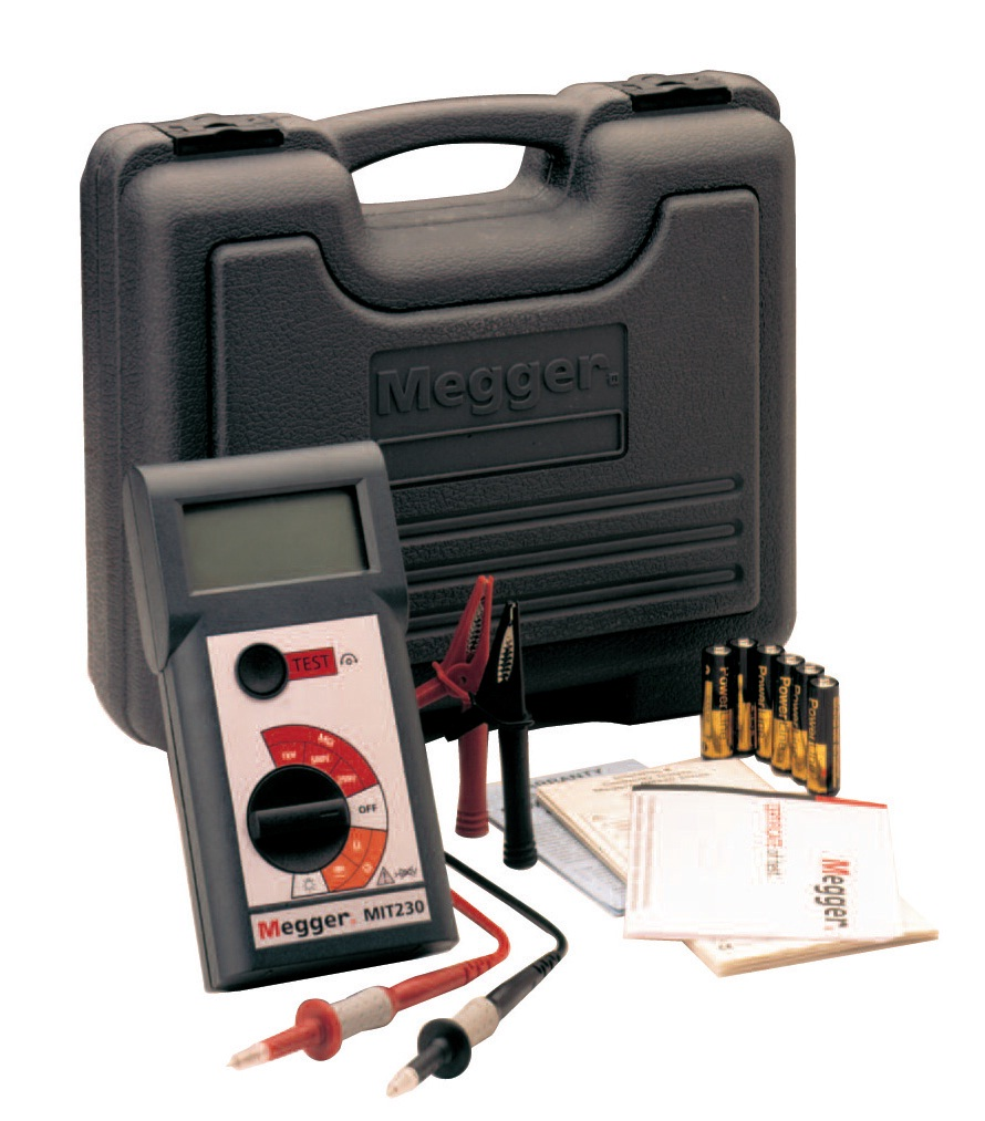 Insulation tester MIT230HD-EN