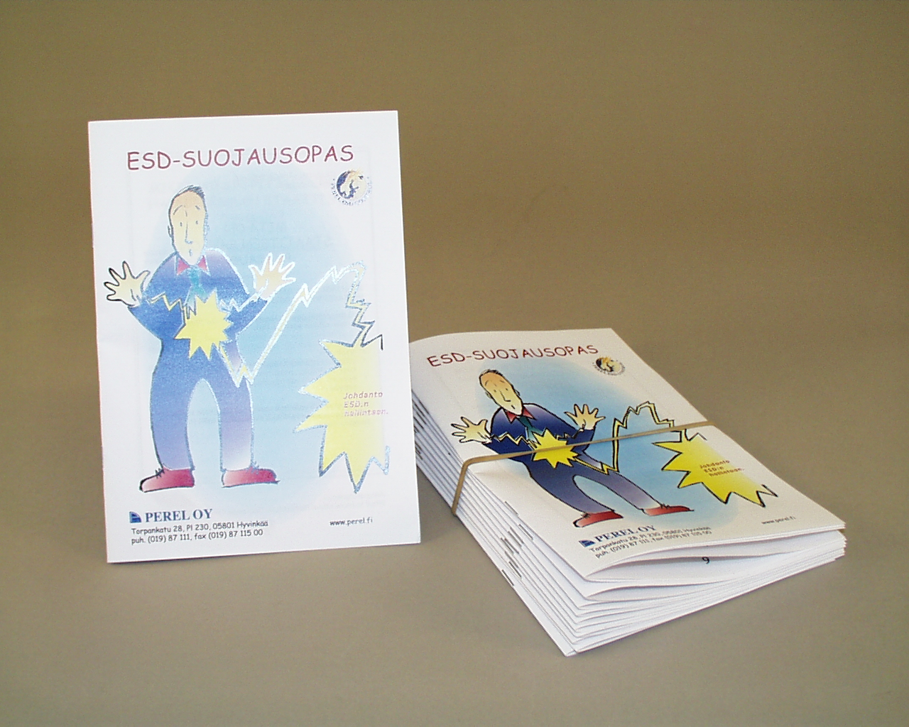 ESD-guide booklet 15 pag. 10pcs/set