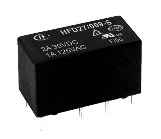 Relay 5VDC 2C 125VAC/1A