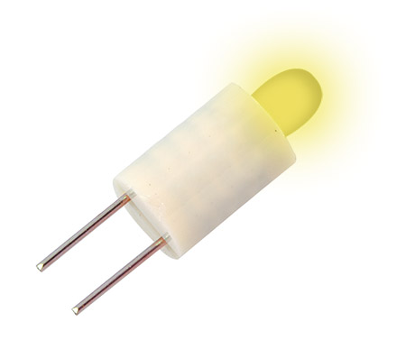 Led T-1 34/4 BP 28V yellow