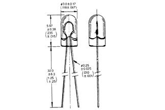 Lamp T-1WT 3V 12mA