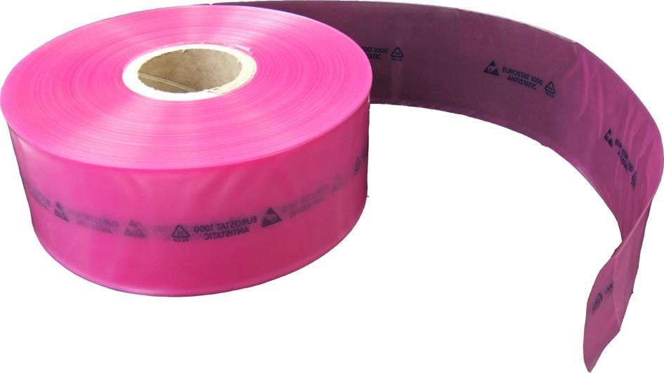 Pink Poly Tubing 0,090/100mmx250m