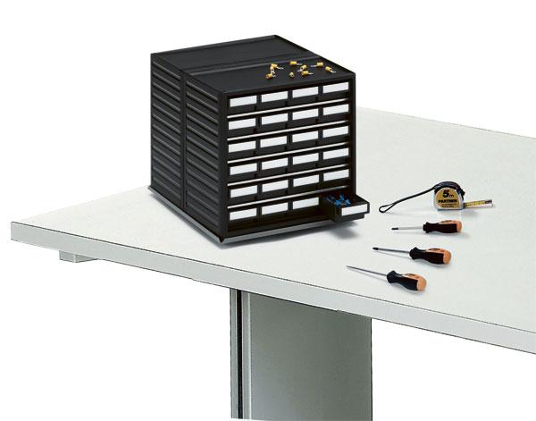 Rotating table rack,  ESD