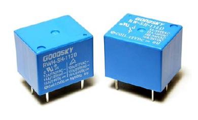 Relay 12VDC 1C 120VAC/10A