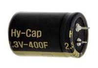 Hybrid capacitor 400F 2,3V