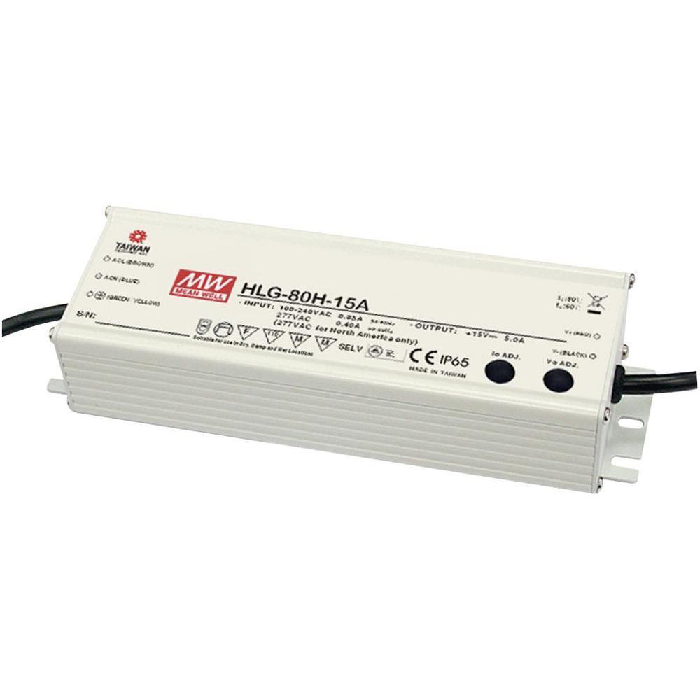 90-305VAC 24VDC 3,4A 80W