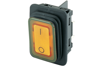 Rocker switch IP65, RoHS