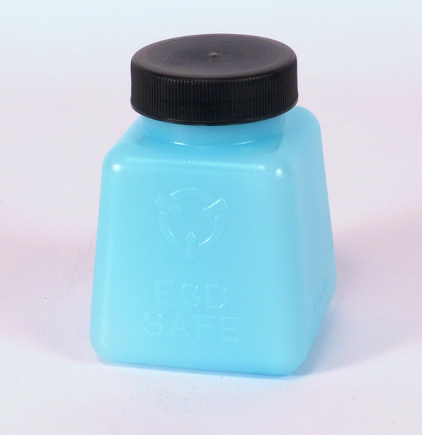 ESD bottle square with cap 114 ml
