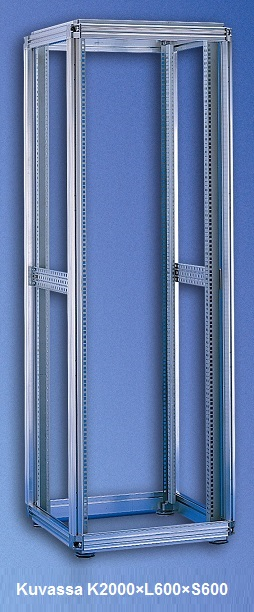 Server rack frame W600 D1200 H2200