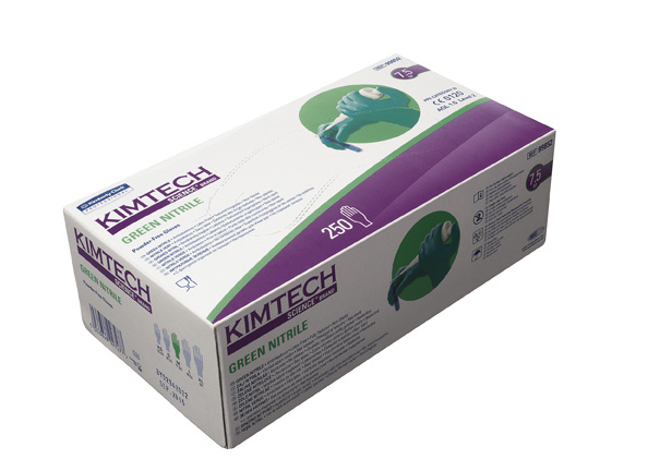 GREEN NITRILE, XS-size, 1500pcs/cas