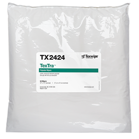 "TexTra™  12"" x 12"" 100 wipers/bag"