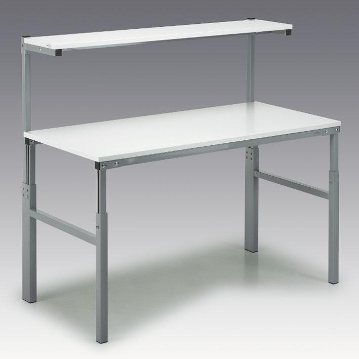 ESD töölaud 900x1500mm, riiuliga