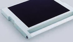 Rubber mat for keyboard shelf W496