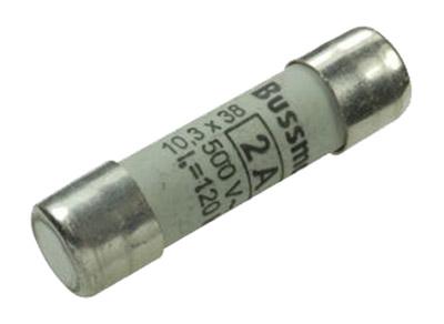 Fuse 2A 10x38mm 500V